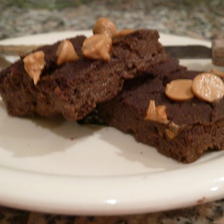 Coconut Flour Breakfast Brownies