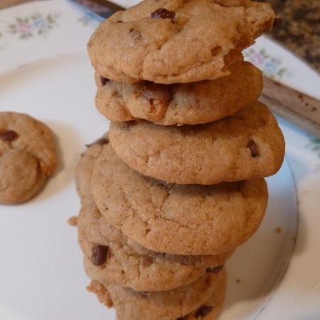 The BEST (Vegan) Chocolate Chip Cookies Ever
