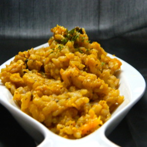 How to Make Low Calorie (Butternut) Risotto