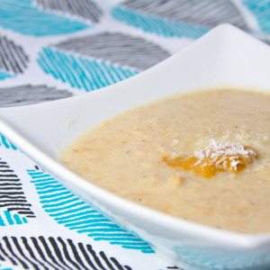 """Low Carb Coconut """"Oatmeal"""""""