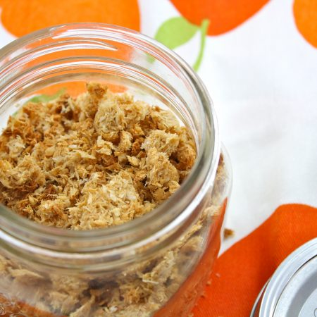 "Low Carb Peanut Butter Banana Coconut ""Granola"""