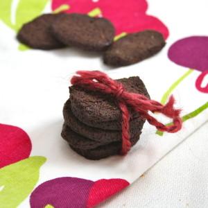 Homemade Healthy Chocolate Wafers