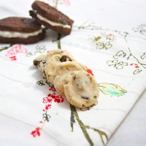Healthy Cookies n Cream Cookies