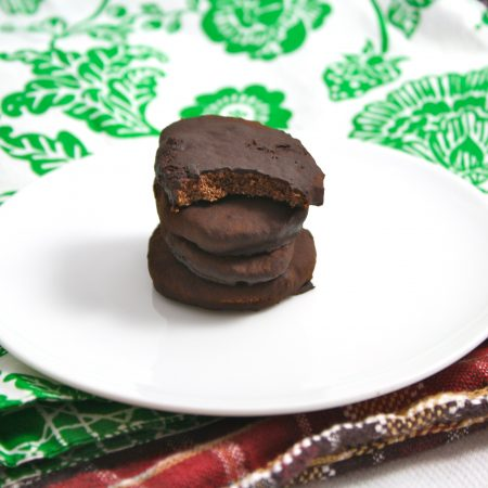 Homemade Healthy Thin Mints