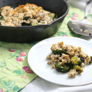 Zucchini Skillet Cobbler