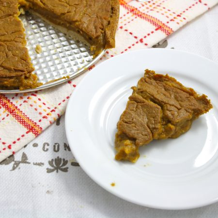 Pumpkin Pie (Vegan/Gluten Free/Grain Free/Sugar Free/Low Carb/Low Calorie)