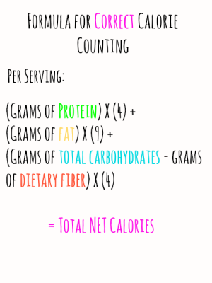 How To Correctly Count Calories