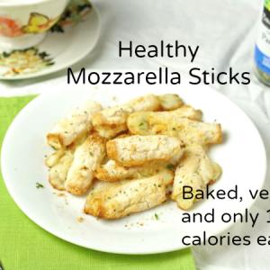 Healthy Mozzarella Sticks (Baked/Vegan/Grain Free/Paleo)