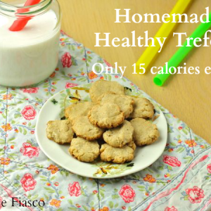 Homemade Healthy Girl Scout Trefoils (Vegan/Low Carb/Paleo)