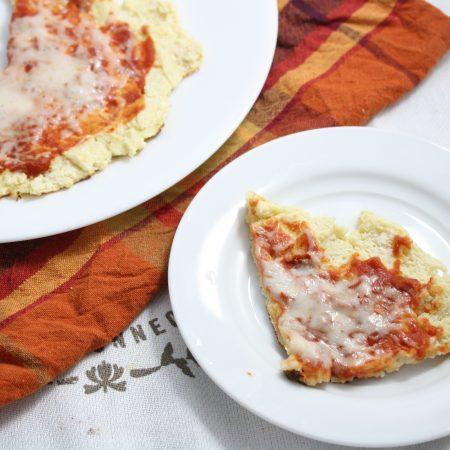 Coconut Flour Pan Pizza