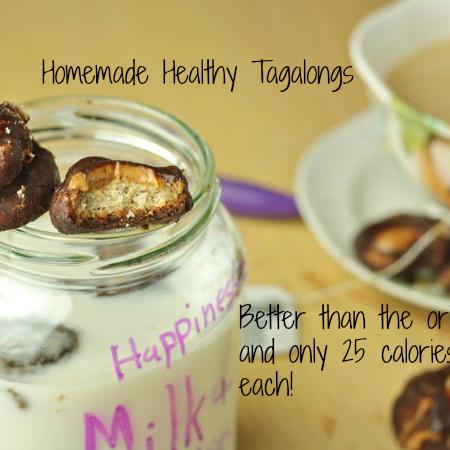 Homemade Healthy Tagalongs (Vegan/Low Carb/Paleo)