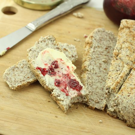 Easy Healthy Yeast Bread (Paleo/Low Carb/Grain Free/Gluten Free/Vegan)