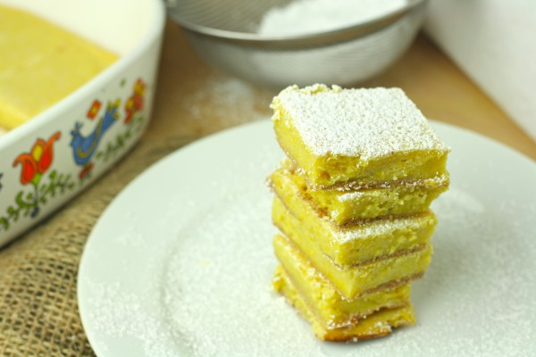 Healthy Lemon Bars