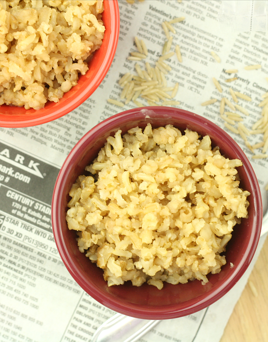Healthy How to: Make Low Calorie Brown Rice