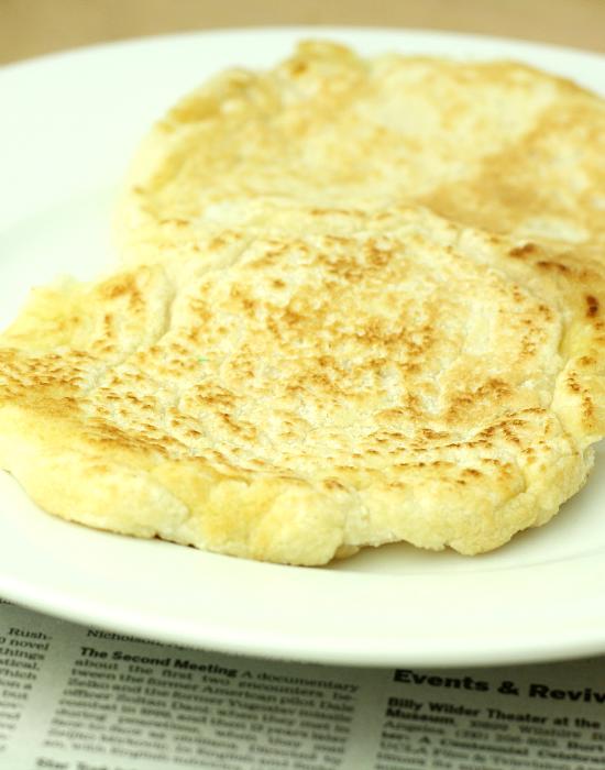 Coconut Flour Flatbread (Low Carb/Paleo/Vegan/Low Calorie/Easy)