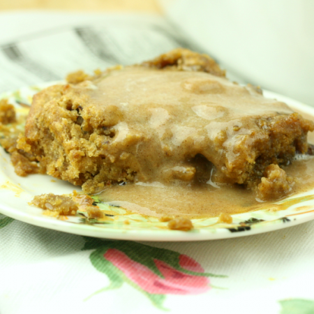 Healthy Easy Sticky Toffee Pudding