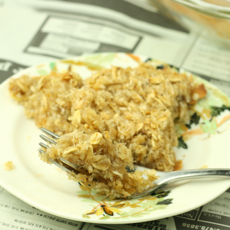Amazing Healthy Oatmeal Pie