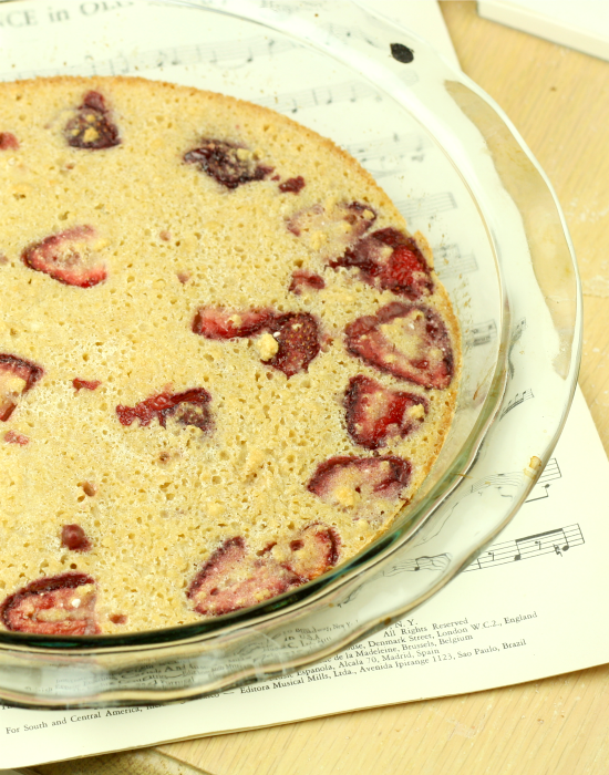 Strawberry Clafoutis 4