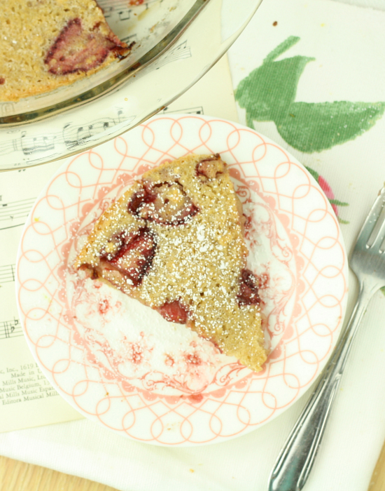 Strawberry Clafoutis 7