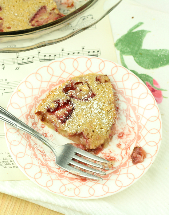 Strawberry Clafoutis 9
