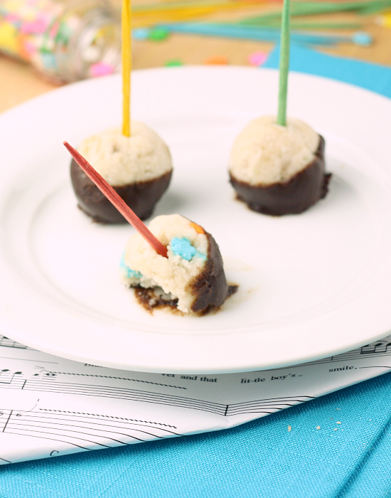 Cake Batter Truffles 9