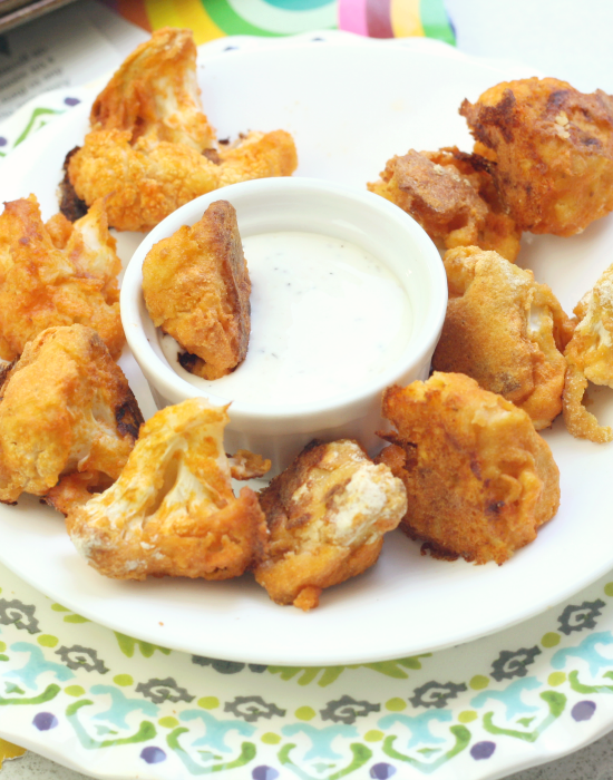Buffalo Cauliflower 8
