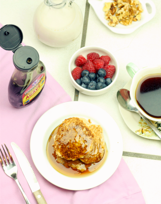 Coconut Flour Pancakes 1