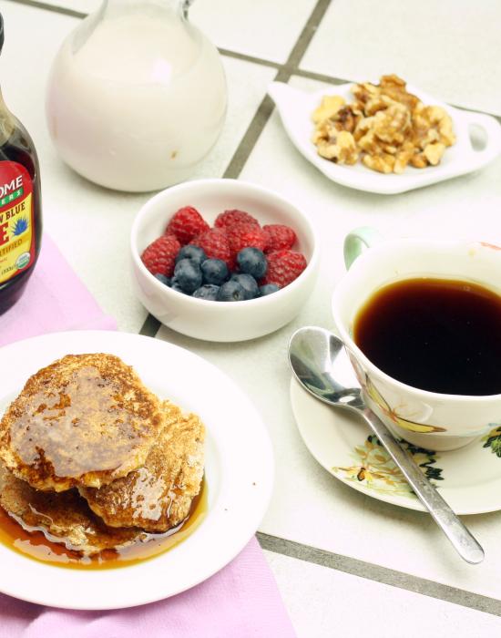 Coconut Flour Pancakes 3
