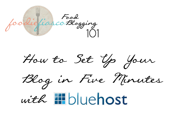 Bluehost Setup