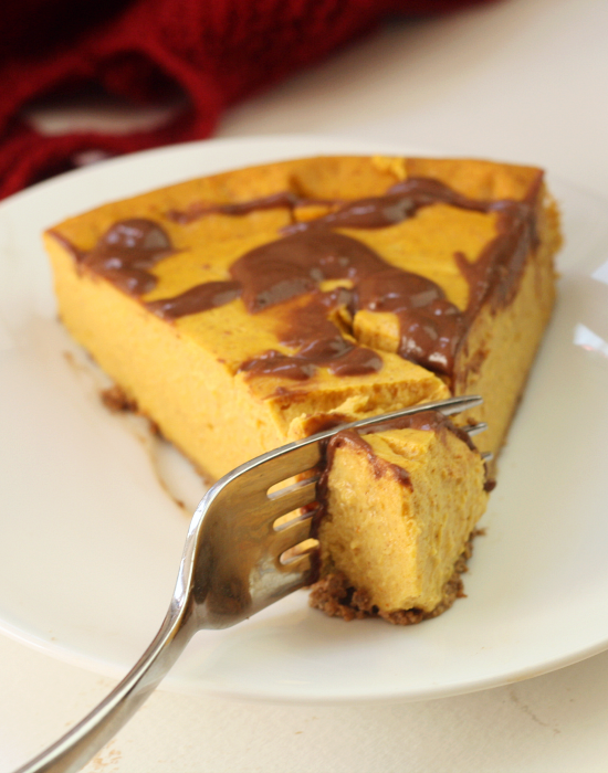 Pumpkin Cheesecake 11