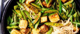 Chinese Tofu Veggie Chow Mein