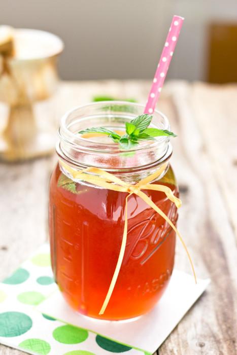 Mint Blueberry Pomegranate Water Kefir-01