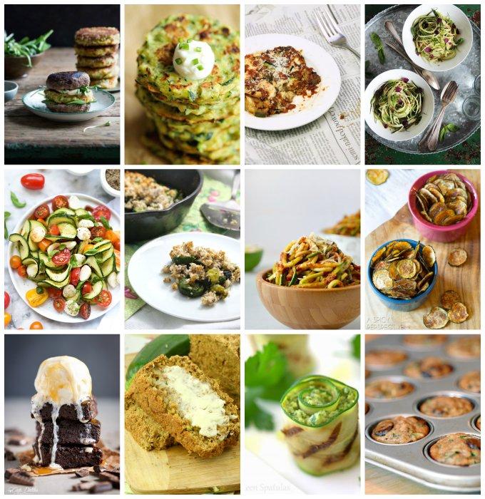 Zucchini Collage 4