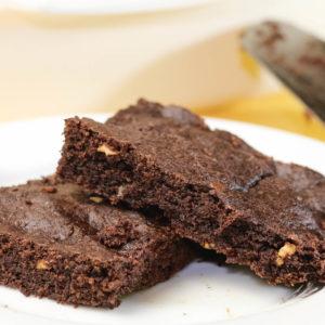 Flourless Almond Butter Brownies + An Announcement!