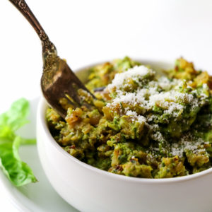 Low Carb Pesto Rice