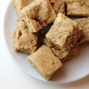 Healthy Pecan Praline Fudge