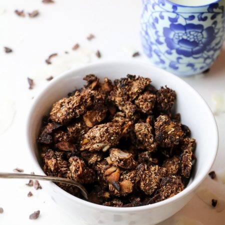 Low Carb Almond Joy Granola