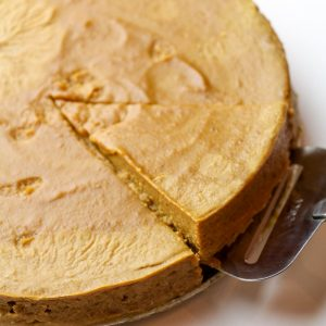 Low Calorie Crustless Pumpkin Pie